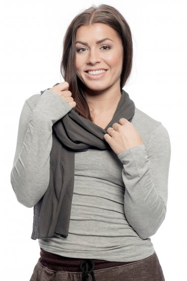 Simple Scarf Warm Grey