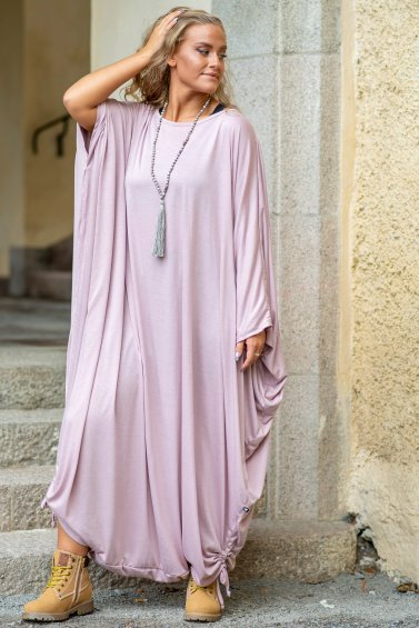 Wing Dress Eco Dusty Pink