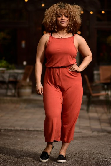 Brina Jumpsuit New Terracotta