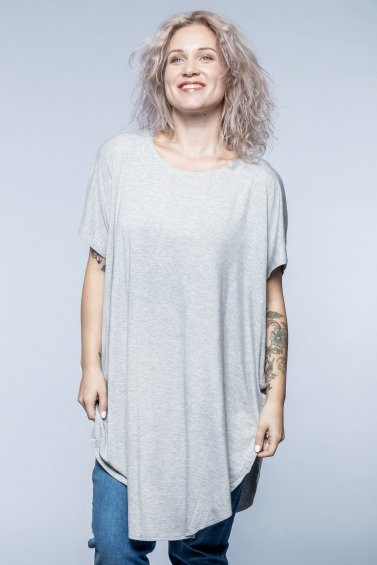 Lily Shirt Light Grey
