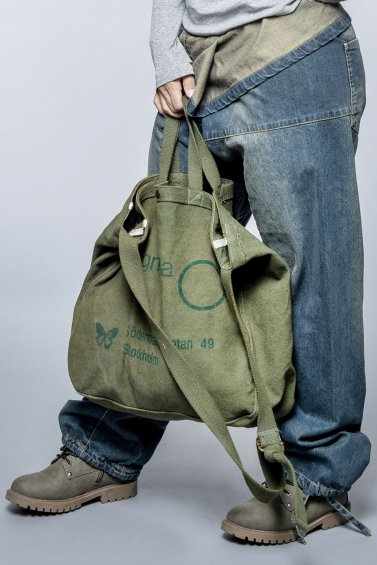 Canvas Bag Army Green