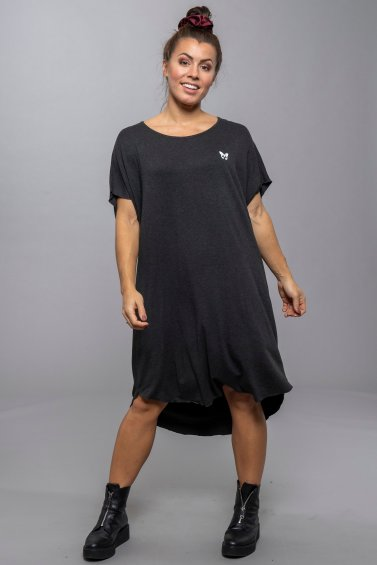 Avery Dress Dark Grey