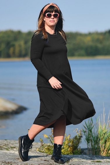 Ballerina Dress Longsleeve Black