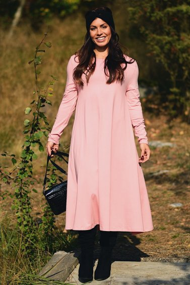 Ballerina Dress Longsleeve Pink
