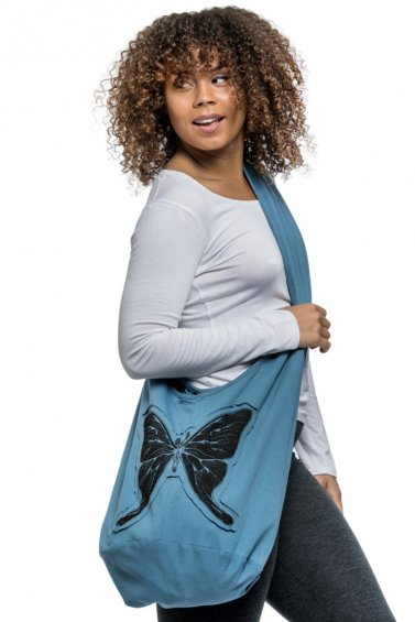 Butterfly Bag Blue