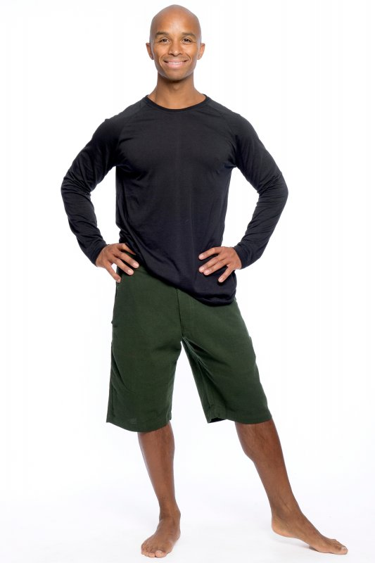 Cruse Man Shorts Army Green