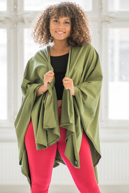 Open Poncho Embrace Eco Green