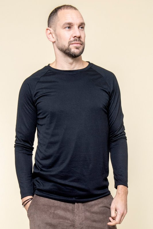 Longsleeve Eco Man Black