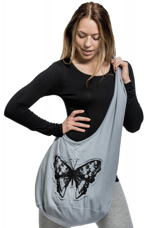 Butterfly Bag Grey