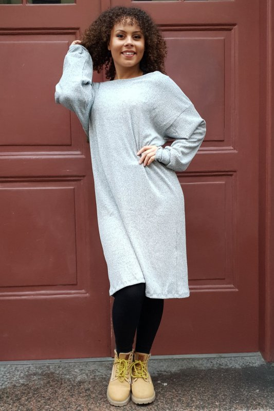 Nunki Dress Grey